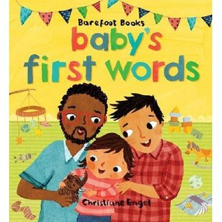 Barefoot Books Baby's First Words Board Book