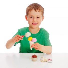 Erzi Wooden Ice Cream Party Play Set