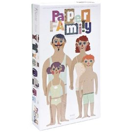 Londji Paper Family Dress Up Set by Londji