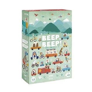 Londji Beep Beep Puzzle & Observation Game by Londji