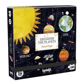 Londji Planets Puzzle 100 Piece by Londji (Pocket)