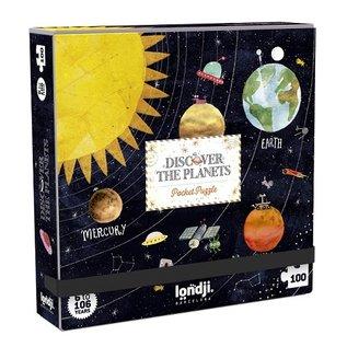 Londji Planets Puzzle 100 Piece by Londji (Pocket)