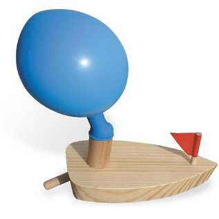 Vilac Balloon Powered Wooden Boat
