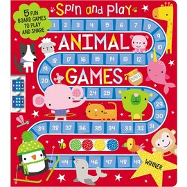 Make Believe Ideas Spin & Play Animal Games