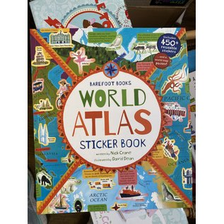 Barefoot Books Barefoot Books World Atlas Sticker Book