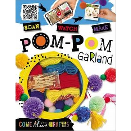 Make Believe Ideas Pom-Pom Garland Craft Kit
