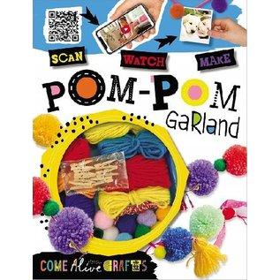 Make Believe Ideas Pom-Pom Garland Craft Kit