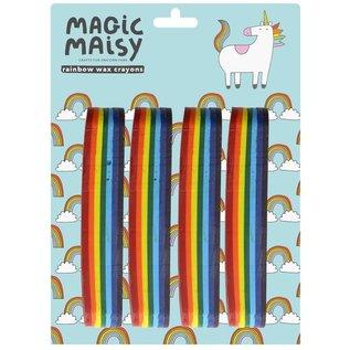 Rainbow Wax Crayons by Magic Maisy