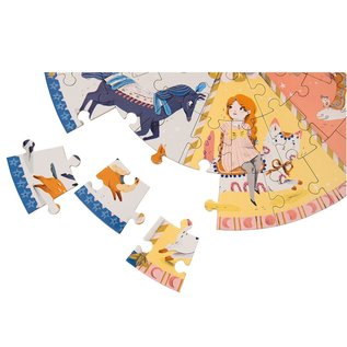Moulin Roty Parisiennes Carousel Puzzle by Moulin Roty