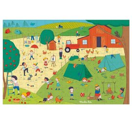 Moulin Roty In the Countryside 150 Piece Puzzle by Moulin Roty