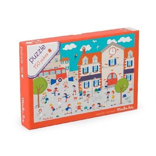 Moulin Roty Schoolyard 150 Piece Puzzle by Moulin Roty