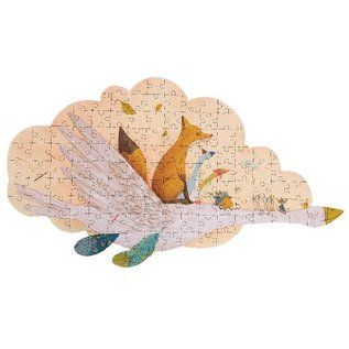 Moulin Roty Goose Puzzle 124 Piece in Suitcase