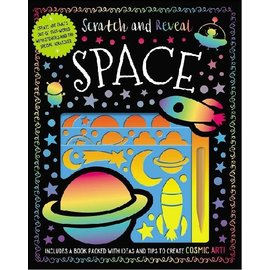 Make Believe Ideas Scratch & Reveal Space Activity Kit