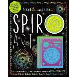 Make Believe Ideas Scratch & Reveal Spiro Art Activity Kit