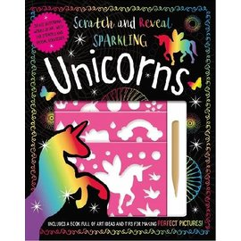 Make Believe Ideas Scratch & Reveal Sparkling Unicorns Activity Kit