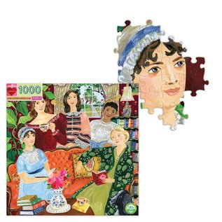 Eeboo Jane Austen's Book Club 1000 Piece Puzzle