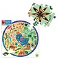 Eeboo Biodiversity 500 Piece Round Puzzle