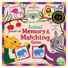 Eeboo Preschool Animal Memory Game