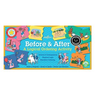 Eeboo Logical Ordering (Before & After) Learning Game