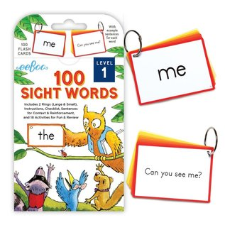 Eeboo Sight Words Flash Cards