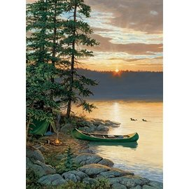 Cobble Hill Canoe Lake 500 Piece Puzzle