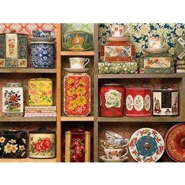 Cobble Hill Tea Caddies 275 Piece Puzzle