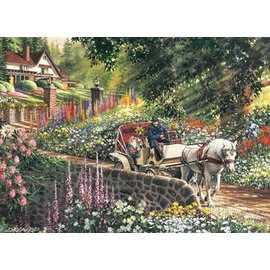 Cobble Hill Carriage Ride 275 Piece Puzzle