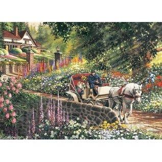 Cobble Hill Carriage Ride 275 Piece Puzzle