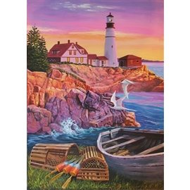 Cobble Hill Lighthouse Cove 275 Piece Puzzle