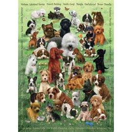 Cobble Hill Puppy Love 350 Piece Family Puzzle