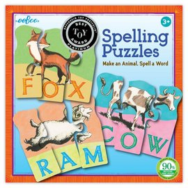 Eeboo Animal Spelling Puzzle by Eeboo
