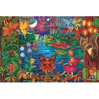 Cobble Hill Fairy Forest 36 Piece Floor Puzzle