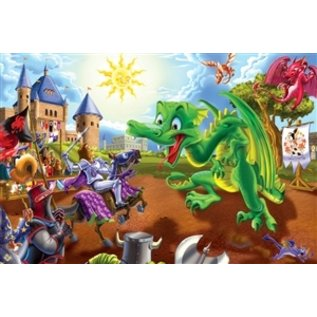 Cobble Hill Knights & Dragons 36 Piece Floor Puzzle