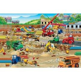 Cobble Hill Construction Zone 36 Piece Floor Puzzle