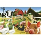 Cobble Hill Welcome to the Farm 36 Piece Floor Puzzle