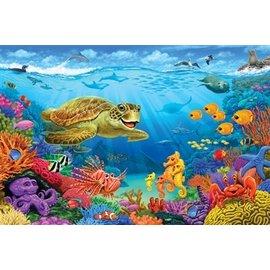 Cobble Hill Ocean Reef 36 Piece Floor Puzzle