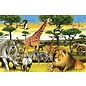 Cobble Hill African Plains 36 Piece Floor Puzzle