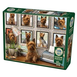 Cobble Hill Yorkies are my Type 1000 Piece Puzzle