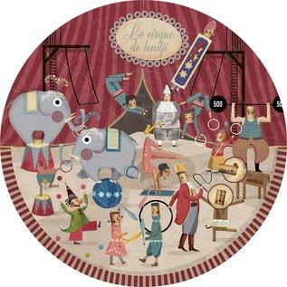 Londji Circus 36 Piece Round Puzzle