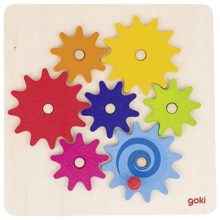 Goki Wooden Cogwheel Game