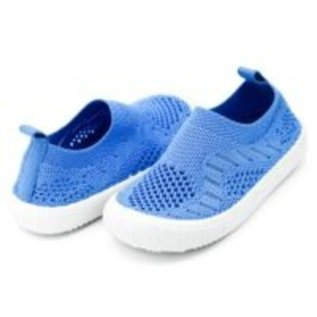 Jan & Jul by Twinklebelle Blue Breeze Knit Shoes by Jan & Jul