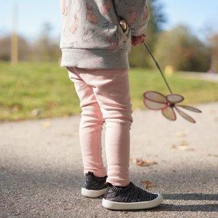 Jan & Jul by Twinklebelle Heather Black Xplorer Knit Shoe by Jan & Jul
