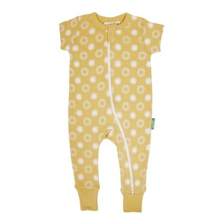 Parade Sunshine Print 2-Way Zip Organic Cotton Romper by Parade