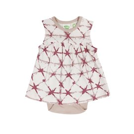 Parade Pink Shibori Onesie Tank Dress