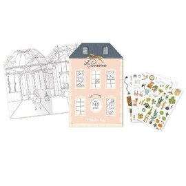 Moulin Roty Les Parisiennes Sticker & Colouring Book by Moulin Roty
