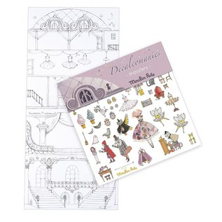 Moulin Roty Once Upon a Time Rub Off Transfers Sets