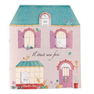 Moulin Roty Once Upon a Time Sticker & Colouring Book
