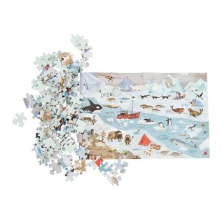 Moulin Roty Ice Floe Explorer 96 Piece Puzzle