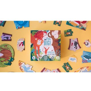 Londji Look I'm Big Toddler 4 Piece Puzzles Set of 5 by Londji