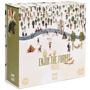 Londji Enjoy the Forest 100 Piece Puzzle by Londji